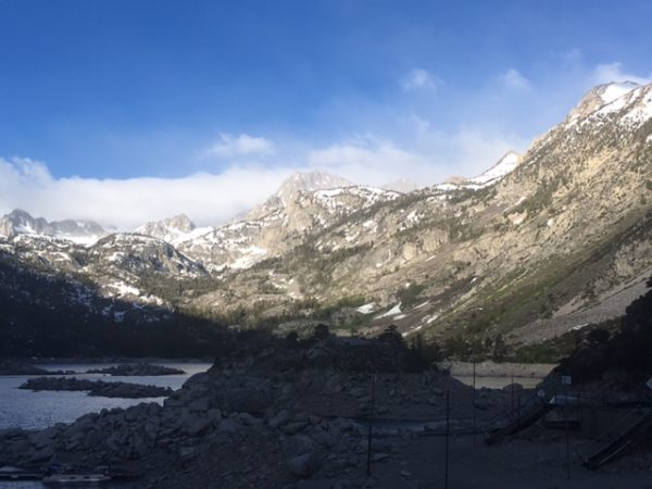 Day 17: Lake Sabrina to Mammoth Lakes